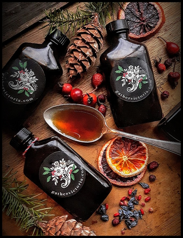 Winter Woodland Medicine: Delicious & Warming Tonic Syrups